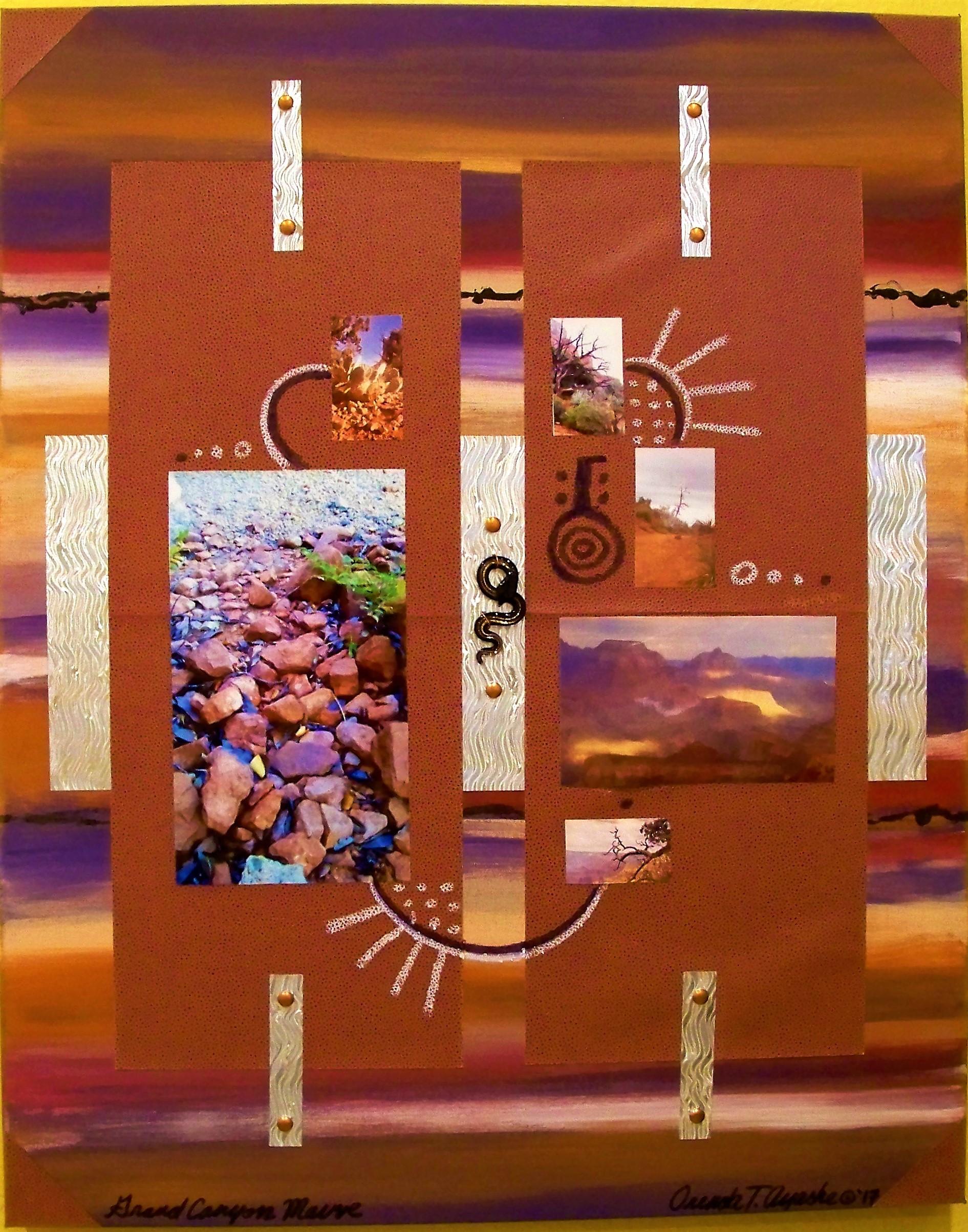 AZ.Deco Series / Grand Canyon Mauve