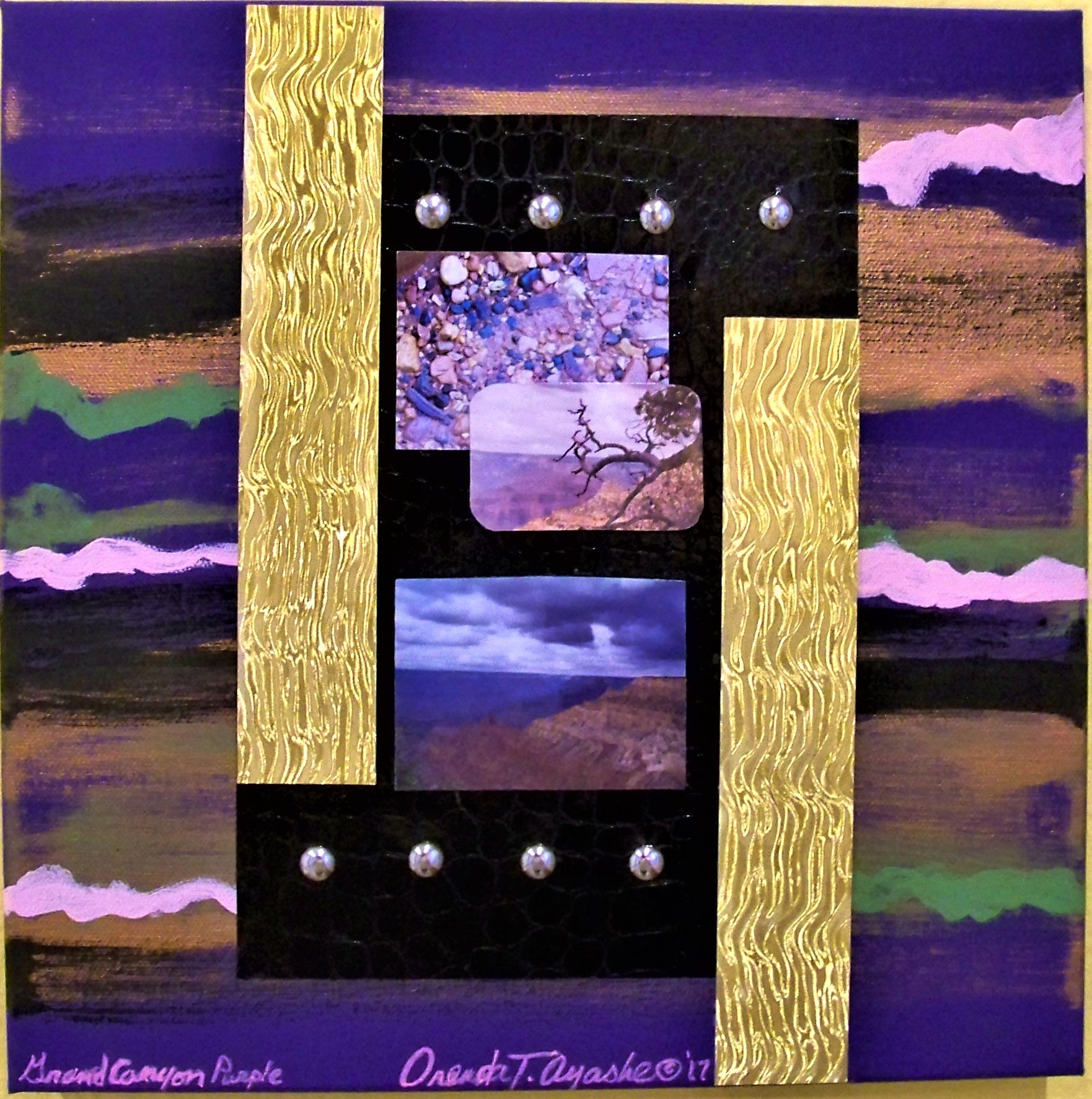 AZ.Deco Series / Grand Canyon Purple